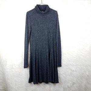 Saturday Sunday cowlneck long sleeve sweater dress